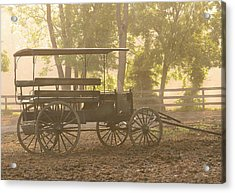 Wagon - Abe's Buggie Acrylic Print by Mike Savad