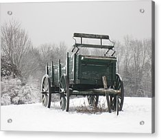 Wagon Hill  Acrylic Print