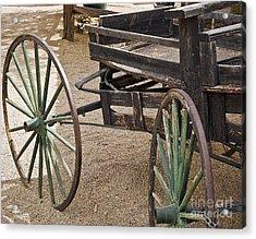 Wagon Wheels Acrylic Print