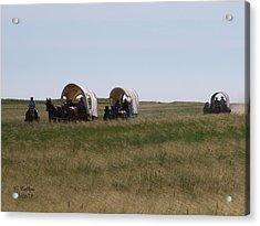 Wagons Ho Acrylic Print