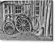 Wagons Lost Acrylic Print by Crystal Nederman