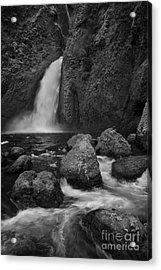 Wahclella Falls Acrylic Print