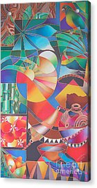 Wai Mai Vanua II Acrylic Print