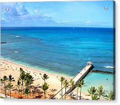 Waikiki Paradise Acrylic Print