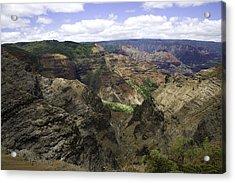 Waimea Canyon2 Acrylic Print by Joanna Madloch
