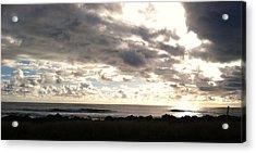 Waimea Sunset II Acrylic Print by Alohi Fujimoto