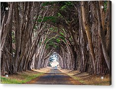 Wait For Me At The End Of Tunnel Acrylic Print