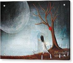 Wait Here I'll Be Right Back By Shawna Erback Acrylic Print by Shawna Erback