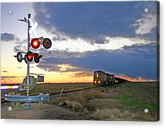 Acrylic Print featuring the photograph Wait Your Turn by Shirley Heier