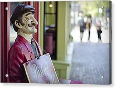 Acrylic Print featuring the photograph Waiter by Michael Donahue