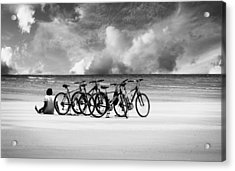 Waiting At The Edge Of The World Acrylic Print
