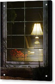 Waiting At The Window Acrylic Print by Guy Ricketts