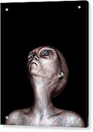 Waiting Acrylic Print by Bob Orsillo