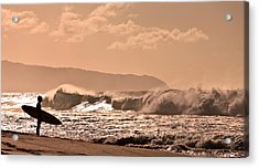 Waiting..... Acrylic Print by Brian Governale