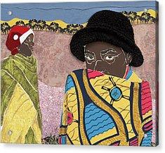 Waiting - Congo Refugee Camp Acrylic Print