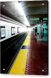 Waiting For Bart Acrylic Print