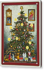 Waiting For Christmas Morning Acrylic Print