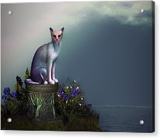 Waiting For His Return Acrylic Print by Tyler Robbins