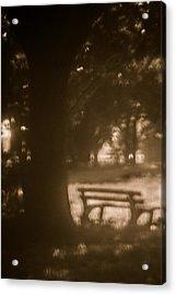 Waiting For Memories  Acrylic Print