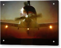 Acrylic Print featuring the photograph Waiting For Mercy by Paul Job