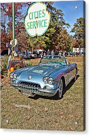 Waiting For Service Acrylic Print