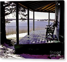Waiting For Spring 2 Acrylic Print by Christopher Mace