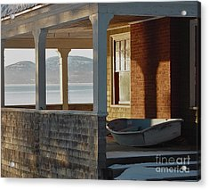 Waiting For Spring Acrylic Print by Christopher Mace