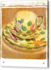 Waiting For Tea Acrylic Print