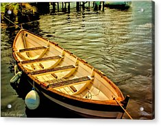 Acrylic Print featuring the photograph Waiting For The Fisherman by Wallaroo Images