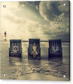 Waiting For The Flood Acrylic Print by Joana Kruse