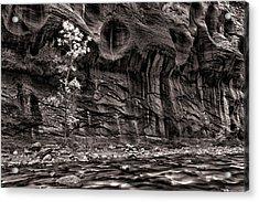 Waiting For The Next Flash Flood Acrylic Print by Juan Carlos Diaz Parra