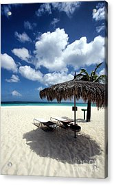 Acrylic Print featuring the photograph Waiting For You In Aruba by Polly Peacock
