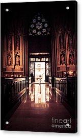 Waiting In Faith Acrylic Print