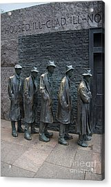 Waiting In Line Acrylic Print