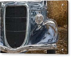 Waiting In The Alley Acrylic Print by Jack Zulli
