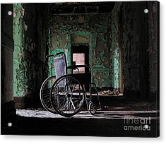 Waiting In The Light Acrylic Print