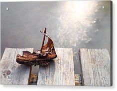 Waiting Acrylic Print by Janne Mankinen
