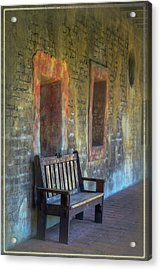 Waiting Acrylic Print by Joan Carroll