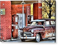 Waiting.... Acrylic Print by Joe Russell