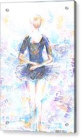 Waiting Acrylic Print by Jovica Kostic
