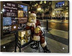 Waiting On Christmas In Sugar Land  Acrylic Print