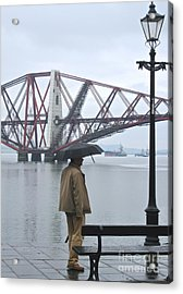 Acrylic Print featuring the photograph Waiting On High Street by Suzanne Oesterling