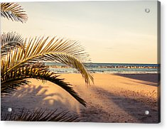 Waiting Summer Acrylic Print by Andrea Mazzocchetti