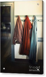 Waiting To Go Out Acrylic Print by Margie Hurwich