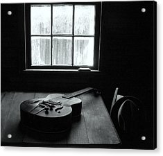 Waiting To Play Acrylic Print by EG Kight