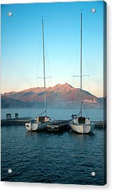 Waiting To Sail  Acrylic Print by Eric Rundle