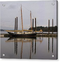 Waiting To Sail Acrylic Print by Feva  Fotos
