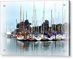 Waiting To Sail Santa Cruz Acrylic Print