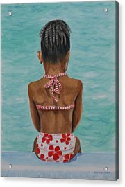 Waiting To Swim Acrylic Print