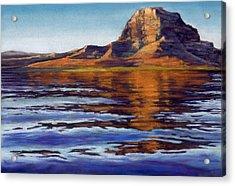 Wake Powell Acrylic Print
